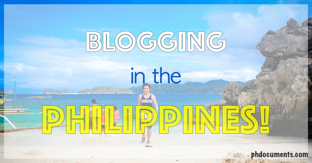 Blogging in the Philippines