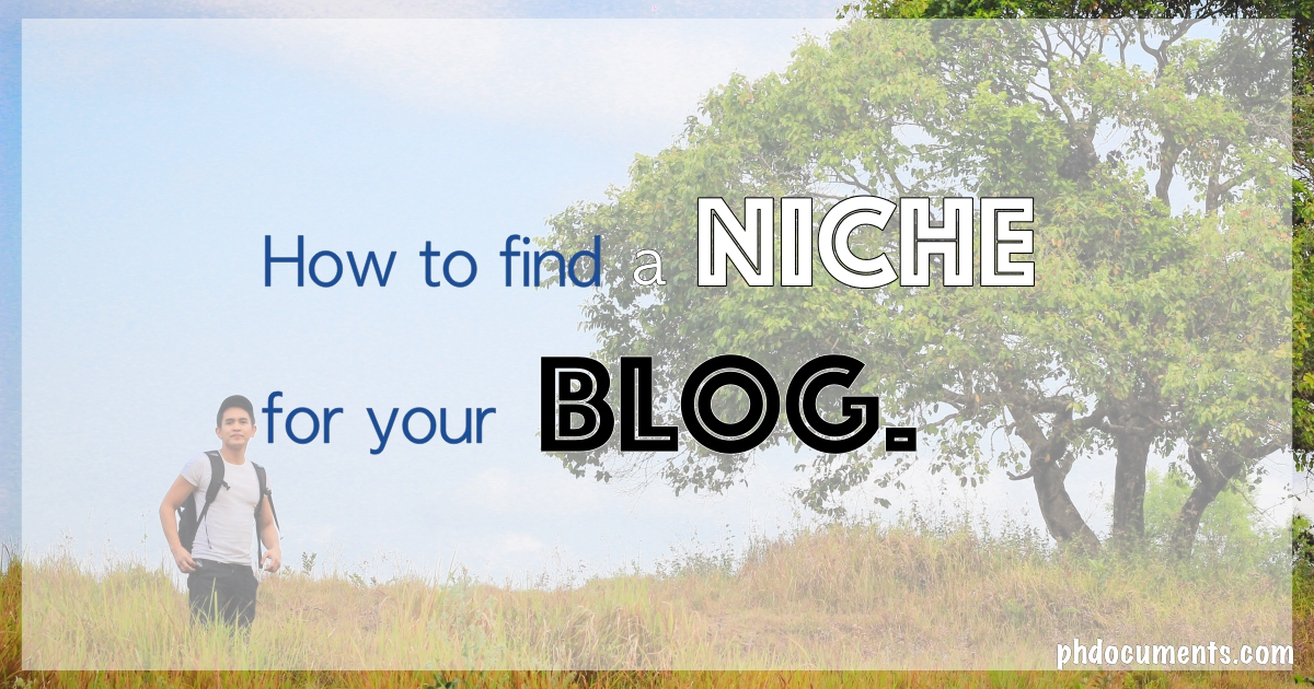 How to find a niche for your blog?
