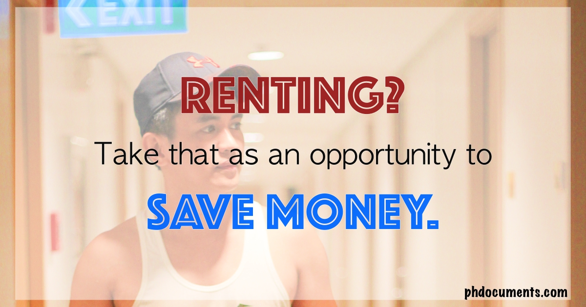 Save Money While Renting