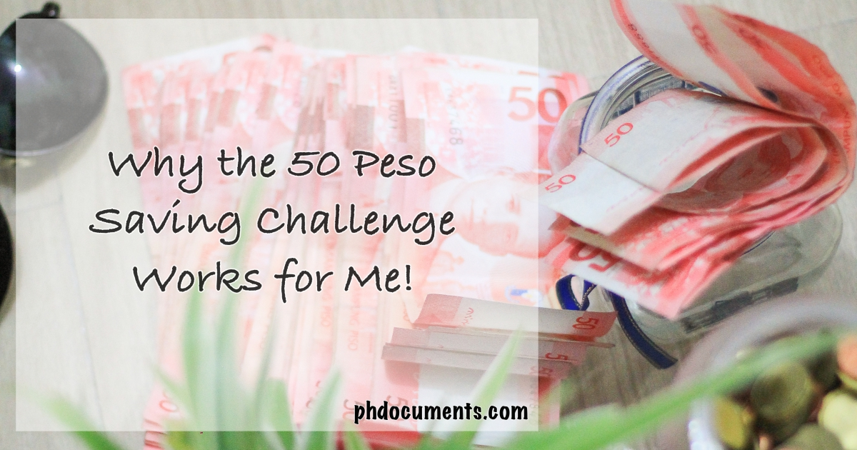 50 Peso Money Saving Challenge-2