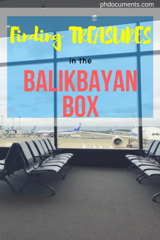 Finding Treasures in your Balikbayan Boxes – Online and
