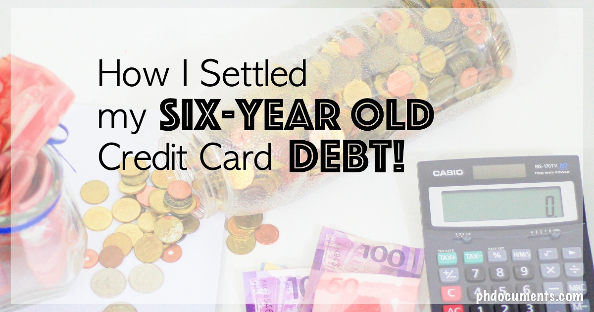 How I settled my credit card debt with HSBC