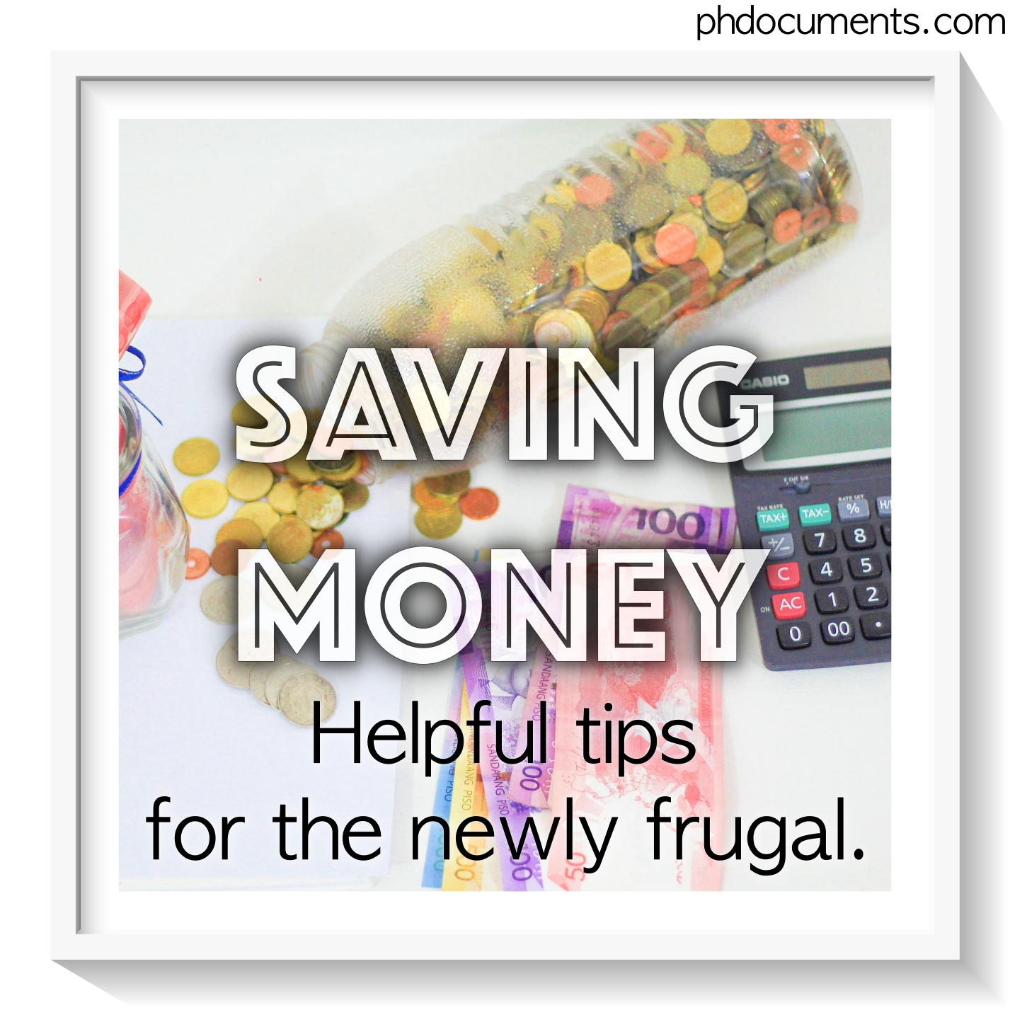 Saving Money Pin Cover